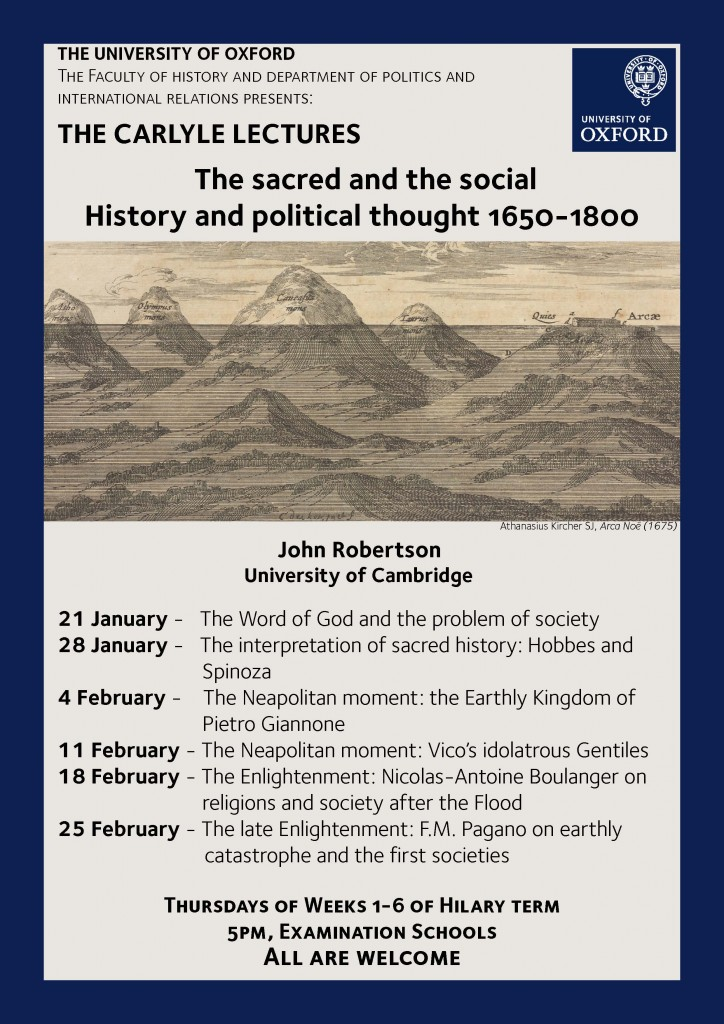Carlyle Lectures Poster
