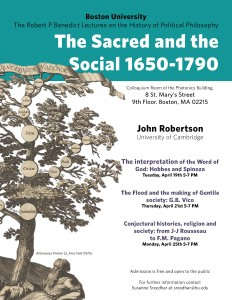 Robertson Lecture Poster