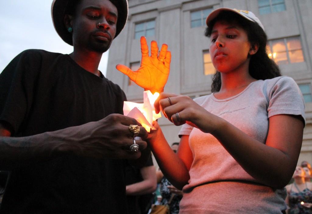 Lighted Candles | image via flickr user Elvert Barnes